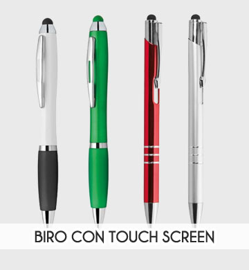 Stampa biro con touche screen